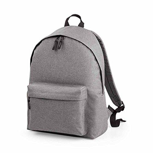 Medium Fashion Unisex Grey BG126GMAR BagBase Marl Two Bg126 Backpack Tone 6npwq