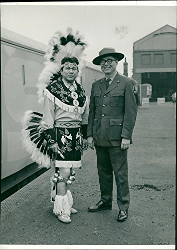National Costume Park Ranger (Vintage photo of Jim Rhodd in Iowa National)