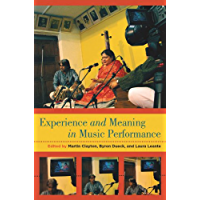 Experience and Meaning in Music Performance book cover
