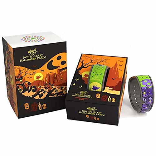 Disney Parks Exclusive Mickey's Not So Scary Halloween Party 2016 MagicBand Link It Later Magic -