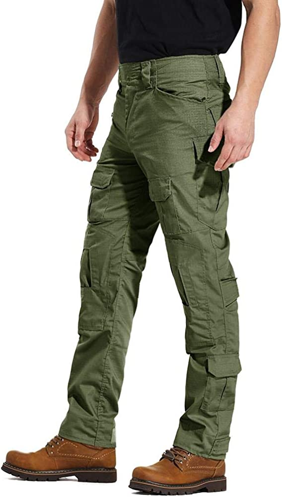 AKARMY Mens Military Tactical Casual Camouflage Multi-Pocket BDU Cargo Pants Trousers