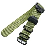 MCXGL Nato heavy duty nylon watch strap + Adapter