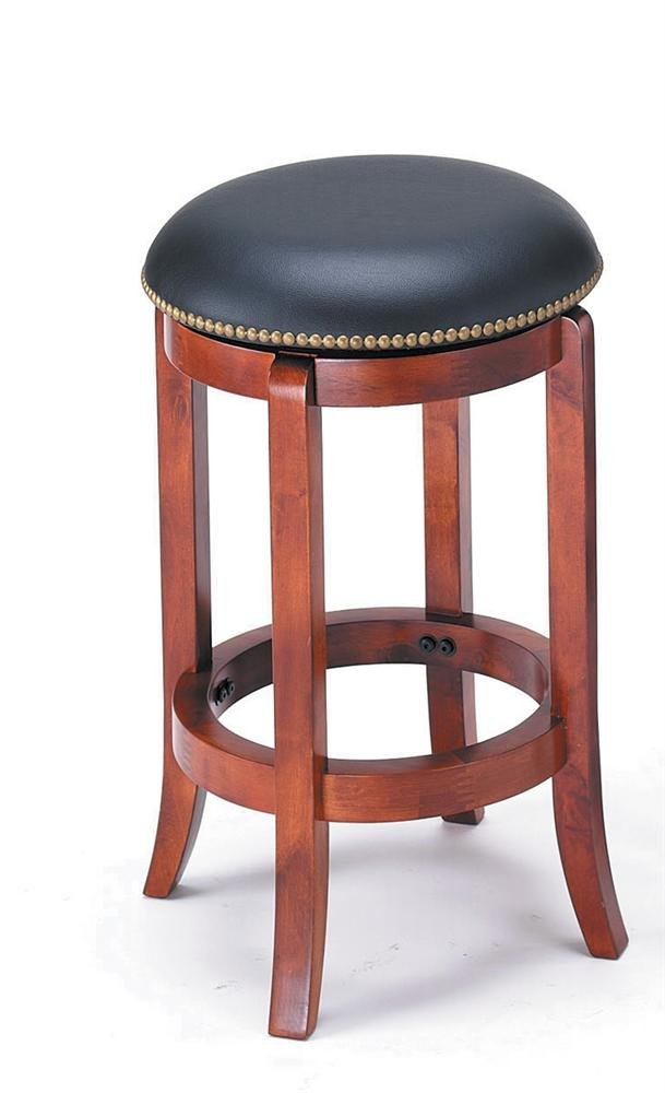 Amazon.com ADF 24-Inch Swivel Bar Stool with Nailhead Trim Cherry Kitchen u0026 Dining  sc 1 st  Amazon.com & Amazon.com: ADF 24-Inch Swivel Bar Stool with Nailhead Trim ... islam-shia.org