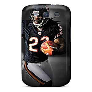 Excellent Design Chicago Bears Phone Case For Galaxy S3 Premium Tpu Case