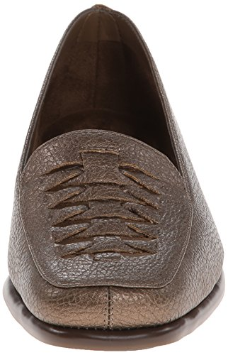 A2 Door Aerosoles Dames Albast Slip-on Loafer Gegoten Brons