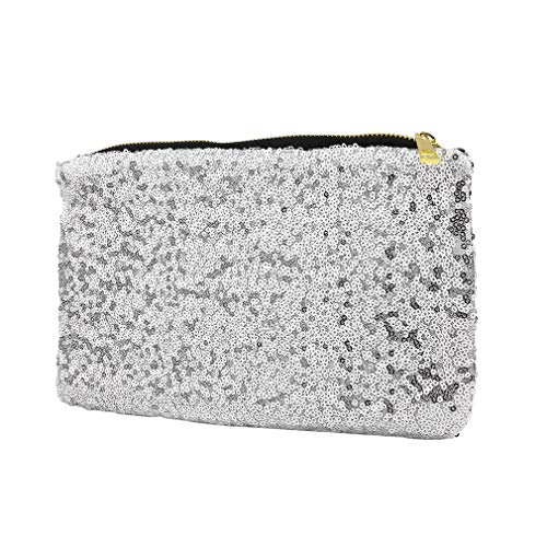 Sequin Handbag Silver Small Hexingshan Special Bag Modern and Elegant 5PcwBFq