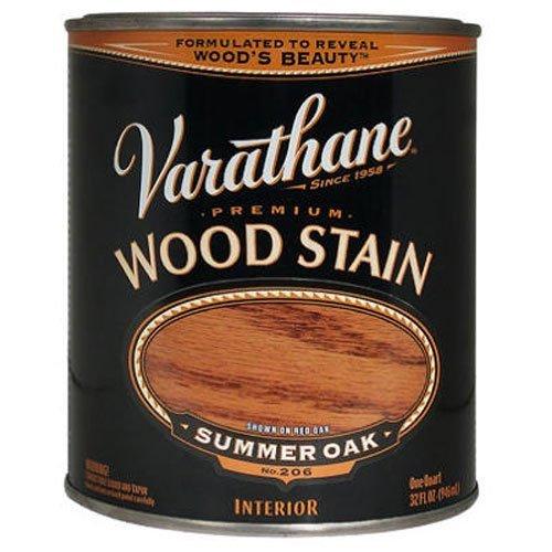 Varathane 211689H Premium Wood Stain, Quart, Summer Oak