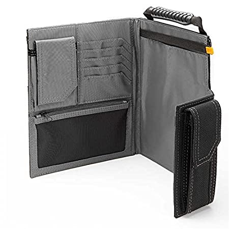 TB-56-L-2 New Page Size: 9.1 X 6.6 Large Grid Notebooks Heavy-Gauge Steel Binding Coil Plastic Cover 2-Pack - Compatible with Toughbuilt Organizers ToughBuilt