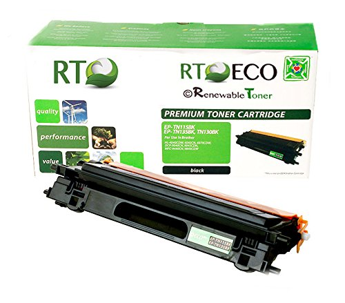 Renewable Toner Brother TN-115BK TN-115 Compatible Black Laser Toner Cartridge for DCP-9040CN DCP-9045CDN HL-4040CDN HL-4040CN HL-4070CDW MFC-9440CN MFC-9450CDN (Brother Dcp 9045cdn Laser)