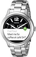 Fossil Q Founder Digital Display Stainless Steel Touchscreen Smartwatch
