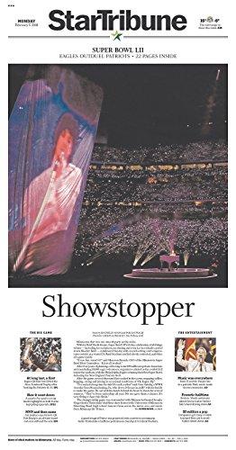Philadelphia Eagles Super Bowl Champs- Minneapolis Star Tribune 2/5/2018