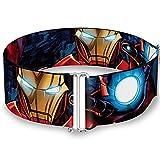 stark belt buckle - Iron Man Action1 Cinch Waist Belt ONE SIZE