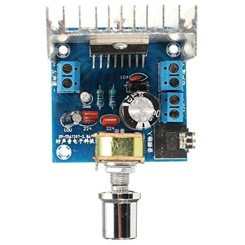 Amplifier Board - SODIAL(R)AC/DC 12V TDA7297 dual channel 2x15W Amplifier Board
