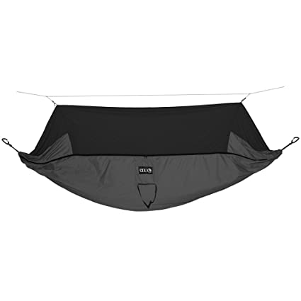 ENO Eagles Nest Outfitters - JungleNest Hammock, Includes Hammock and Bug Net, Grey