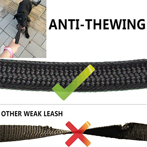 Heavy Duty Dual Dog Leash /Triple Dog Leash,360°Swivel No Tangle Double Dog Walking Training Leash,2-way&3-way interchangeable Lead with Hand-protected Handle Waste Bag Dispenser for Two/Three Dogs by SonQueen (Image #5)'