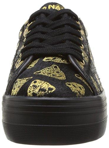 No Plato Noir Tiger Name Black Baskets Gold mode femme Sneaker rHOr6
