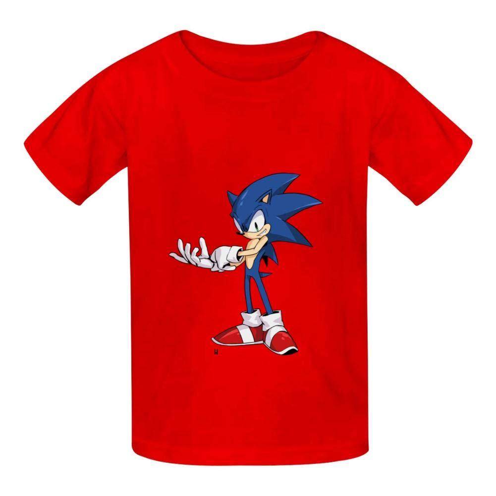 LUJXN Boys Crew Neck T-Shirt Funny Short Sleeve Family Tee