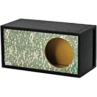 Atrend GFX Series Single Vented SPL 10 Subwoofer Enclosure (Desert Digi Camo)