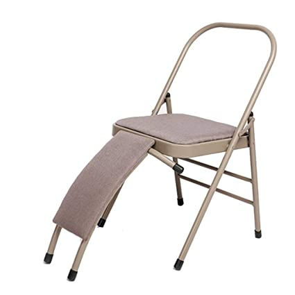 Amazon.com: Sports & Fitness Yoga Chair Iyengar Yoga Chair ...