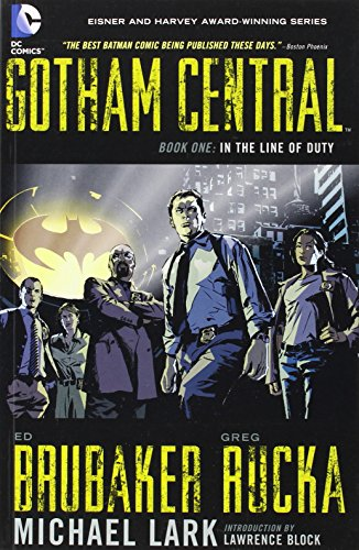 gotham central book one - 1