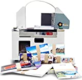 Duplo UP-240 Paper Banding Machine; Bundles finished pieces such as business cards, postcards, and brochures; Tabletop design; Manual or auto start operation; Uses a variety of banding tapes from craft paper to film