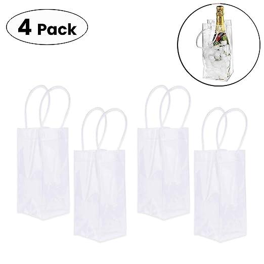 OPSLEA La bolsa de asas del vino a prueba de fugas bolsa de ...