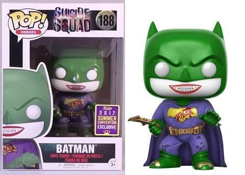 - Funko Pop! SDCC 2017 Suicide Squad Joker Batman, Limited Edition Summer Convention Exclusive