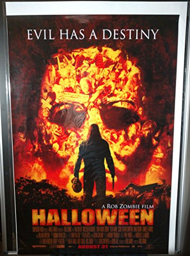 Halloween Rob Zombie Original Double Sided Movie Poster 2007 -