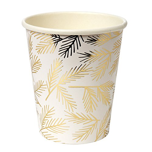 Paper Cups Party Supplies Insulated Cups for Hot or Cold Drinks Disposable Cups 9 oz. Pk 8