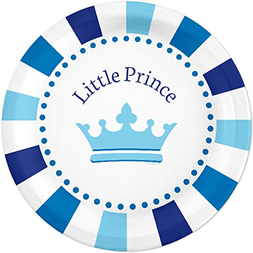 - Little Prince 24 Count 9 inch Birthday Party Lunch Plates