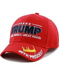 "Exclusive 45th President ""Make America Great Again"" 3D Signature Cap"