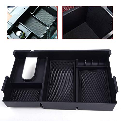 - Daphot-Store - Car Center Console Storage Box Arm Rest Glove Tray Case Fit for Toyota Tundra 2014 2015