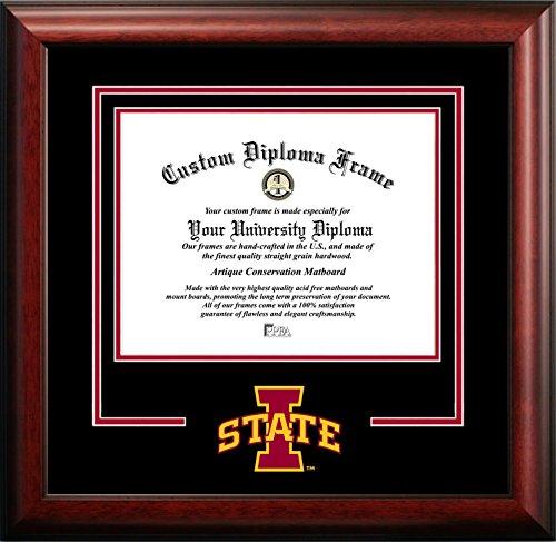 Campus Images NCAA Iowa State Cyclones Spirit Diploma Frame, 8.5 x 11, ()