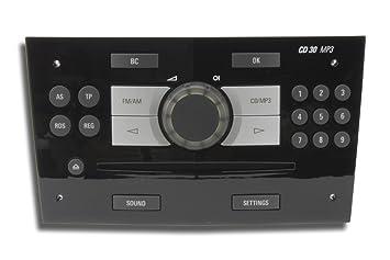 Cd30 mp3 opel corsa radio with an onboard computer amazon cd30 mp3 ehu2 opel corsa radio piano black with an onboard computer sciox Images