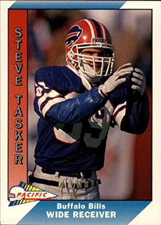 Amazon.com  1991 Pacific Football Card  32 Steve Tasker Near Mint Mint   Collectibles   Fine Art b863613fa