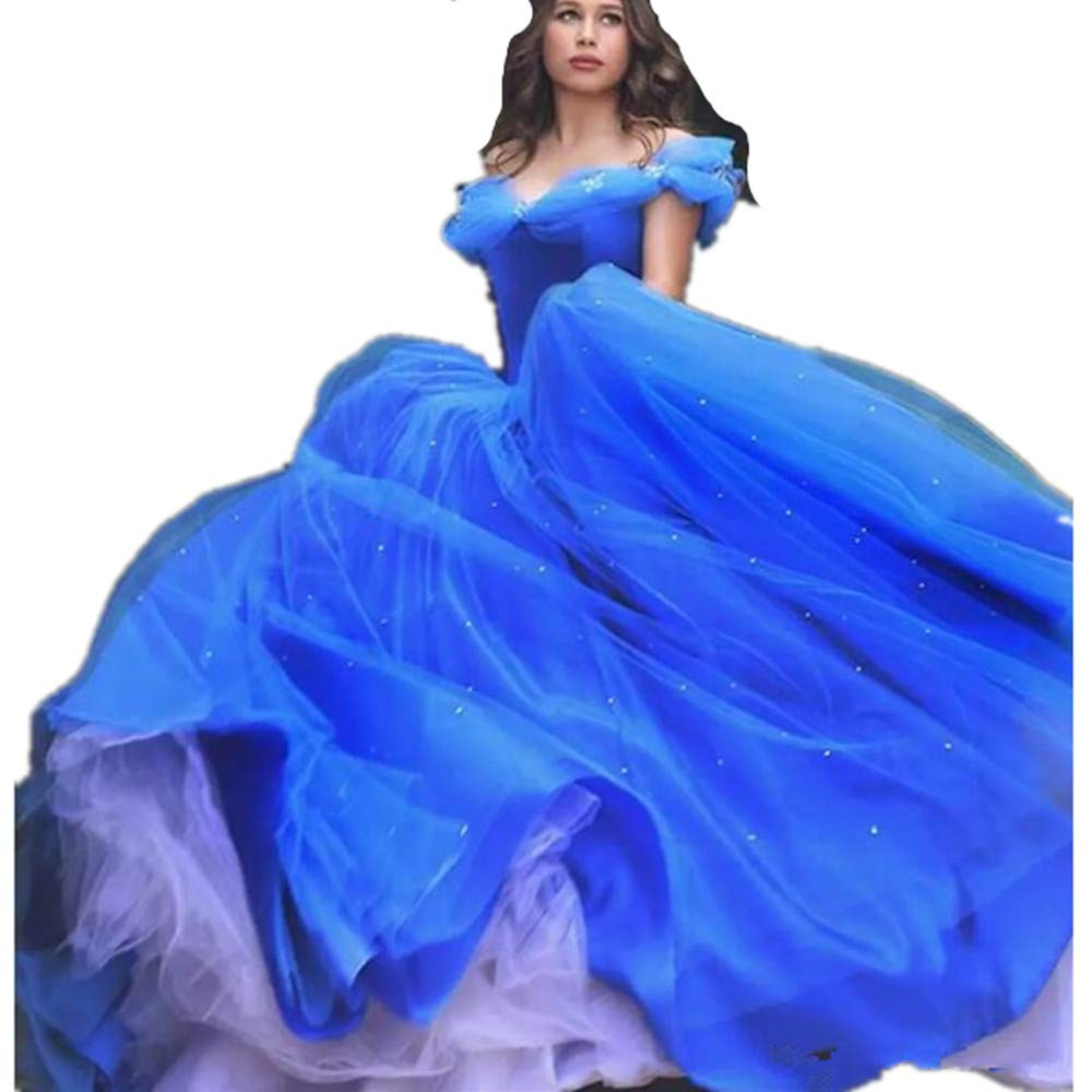 c7bf92bae81 Formaldresses Royal Blue Ball Gown Quinceanera Dress 2018 Plus Size Sweet  16 Dress Women at Amazon Women s Clothing store