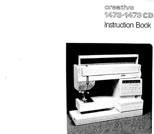 Descargar Pdf-File Pfaff Creative 1473 1473 CD máquina de coser ...