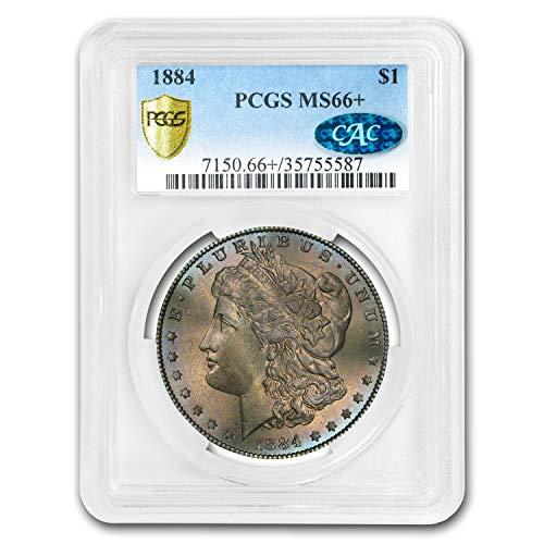 1884 Morgan Dollar MS-66+ PCGS CAC (Toned) $1 MS-66 PCGS