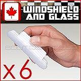 6 PACK AQUAPEL,WINDOW WINDSHIELD GLASS TREATMENT RAIN WATER REPELLENT REPELS