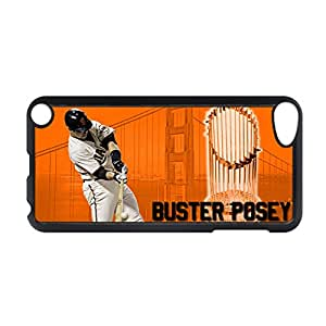 Generic Personalised Back Phone Covers For Girl With Buster Posey For Apple Ipod Touch 5 Choose Design 2