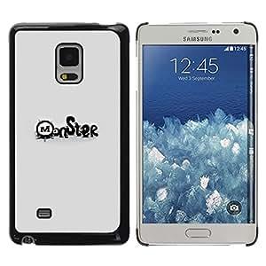"For Samsung Galaxy Mega 5.8 , S-type Monsters"" - Arte & diseño plástico duro Fundas Cover Cubre Hard Case Cover"