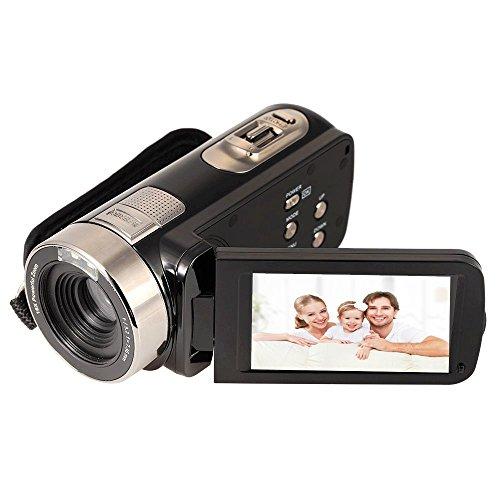 Fitiger 2.7' LCD Screen Digital Video Camcorder Night Vision 24MP Camera HD Digital Camera