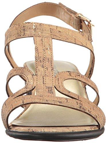 Easy Street Womens Britney Dress Sandalo Sughero Fleck