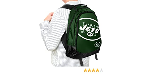 54dc88f2f676 Amazon.com   Forever Collectibles NFL New York Jets Core Structed Backpack    Sports Fan Backpacks   Sports   Outdoors