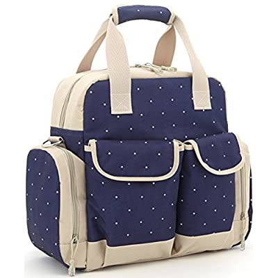 Orgrimmar Multifunction Diaper Tote Bags Baby Nappy Bag Larger Capacity Mummy Handbag Backpack¡­