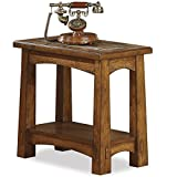 Riverside Furniture Riverside Craftsman Home Chairside Table For Sale