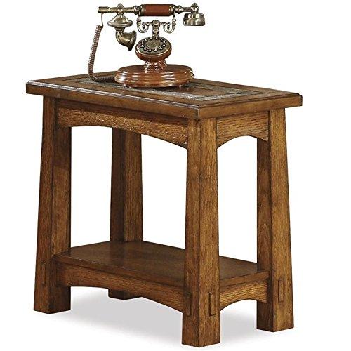 Riverside Furniture Riverside Craftsman Home Chairside Table For Sale