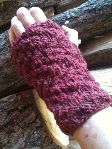 7 Wrist Warmers Knitting Patterns : How To Knit Wrist Warmers (Easy ...