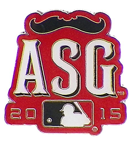 All Star Pin Game (2015 MLB All-Star Game Secondary Logo Pin)