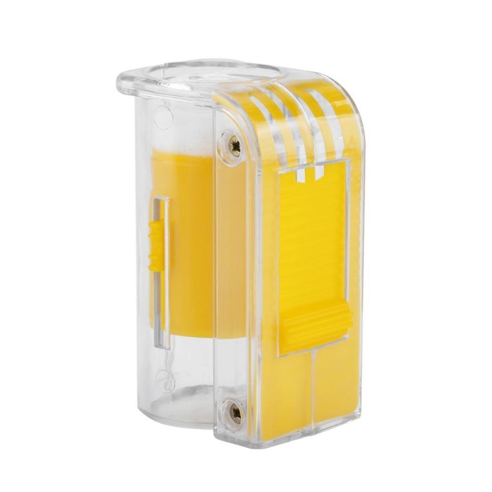 Su-luoyu Reine Abeille Bouteille Outils D'apiculture De Boîte De Bouteille De Marqueur De Reine d'abeille Sécurité et Non-Toxique 5.5 * 4 * 9cm